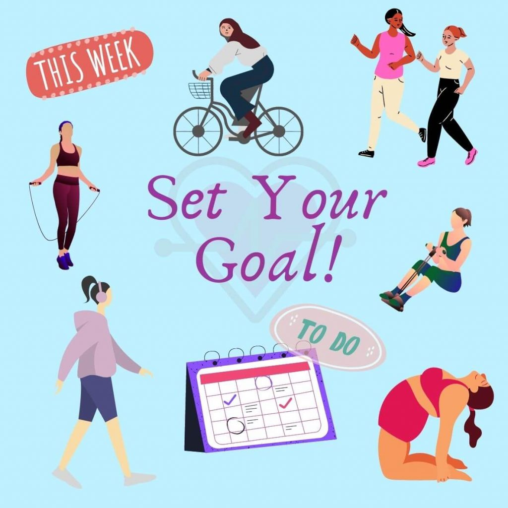 setting fitness goals to bust belly fat